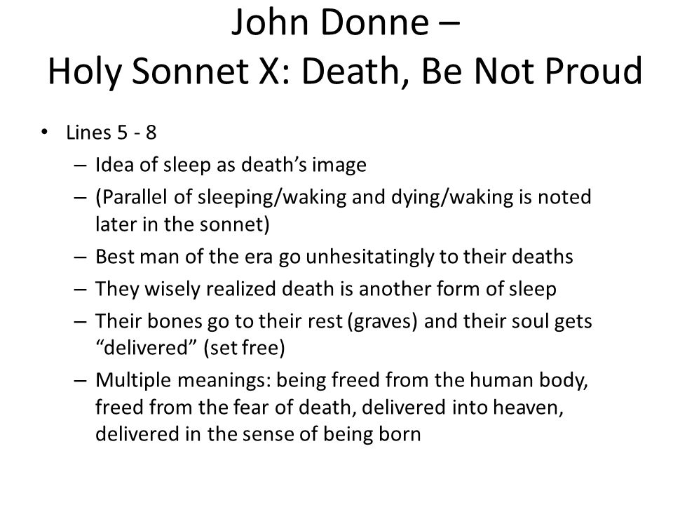holy sonnet 2 john donne Holy sonnets by john donne  by dylan thomas - duration: 2:30 metrisch 89,086 views 2:30  holy sonnet #10 (death be not proud).