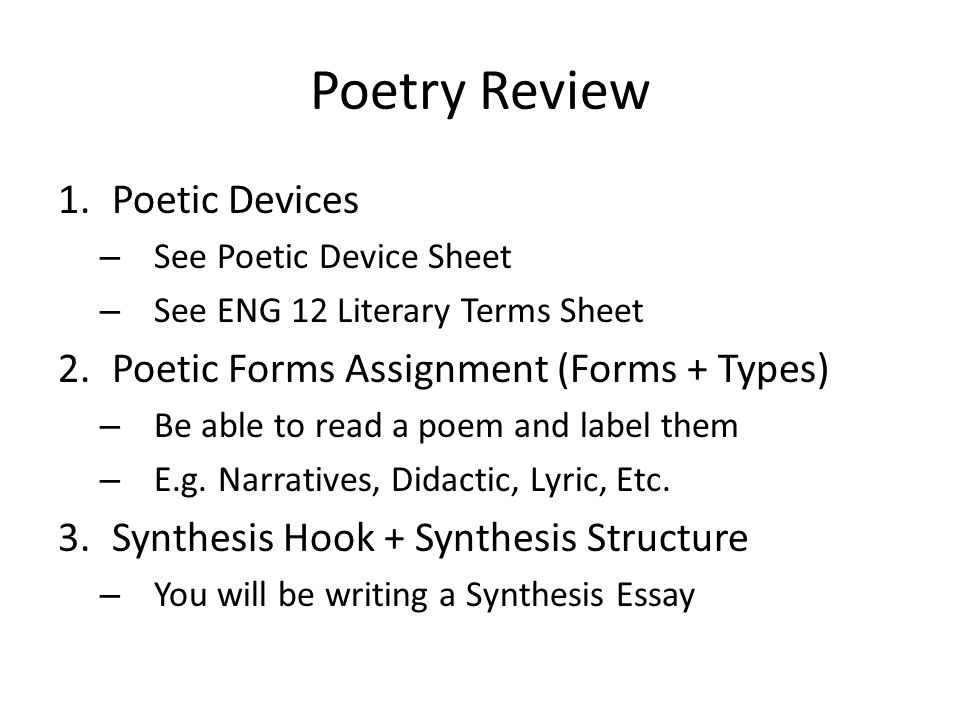 poetry essay assignment Pre 19th century poetry essay - Assignment Example