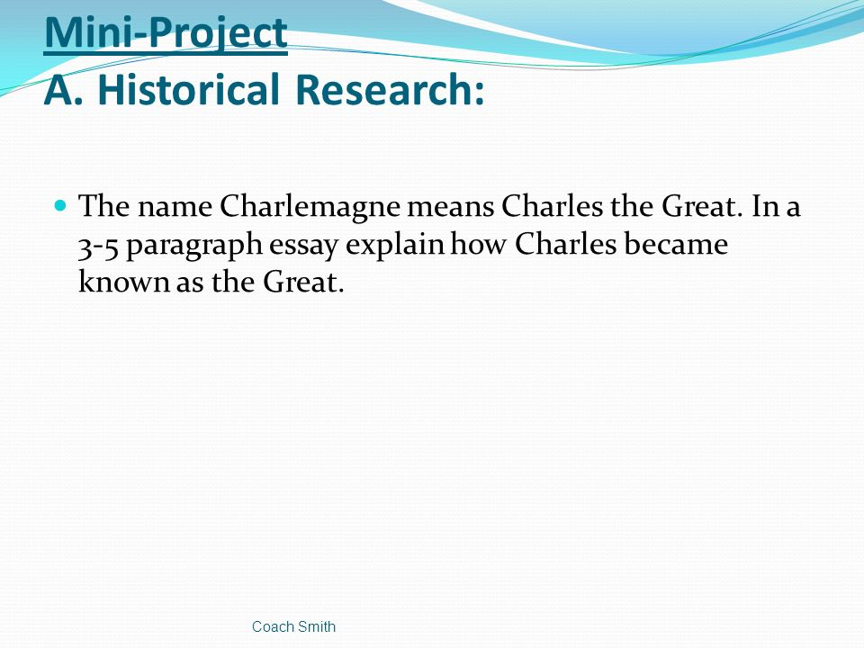 aim how did charlemagne s rule impact western europe ppt video  15 mini project