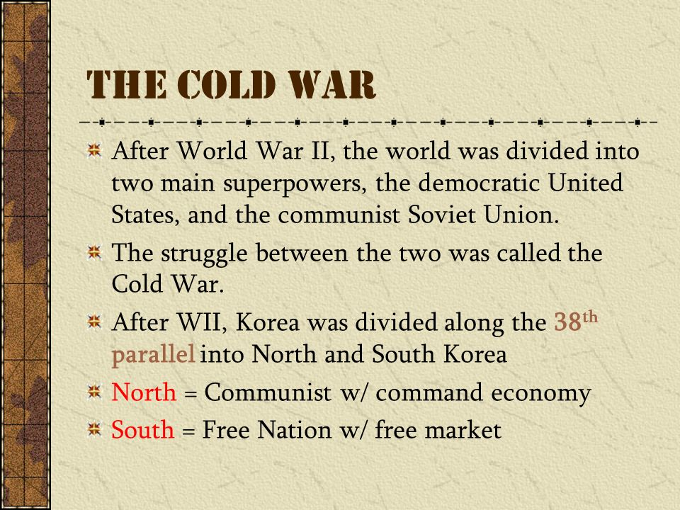 command economy in north korea and market economy in south korea Inside north korea's not so isolated, free-enterprise economy  but north korea and its economy are far from isolated  if you visit a north korean open market, for example, you'll find.