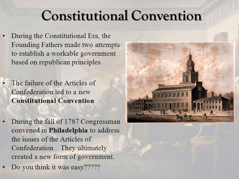 an analysis of the constitutional convention 1 analysis of constitutional convention question introduction on november 6, 2012, alaskans will vote whether to have a constitutional convention.