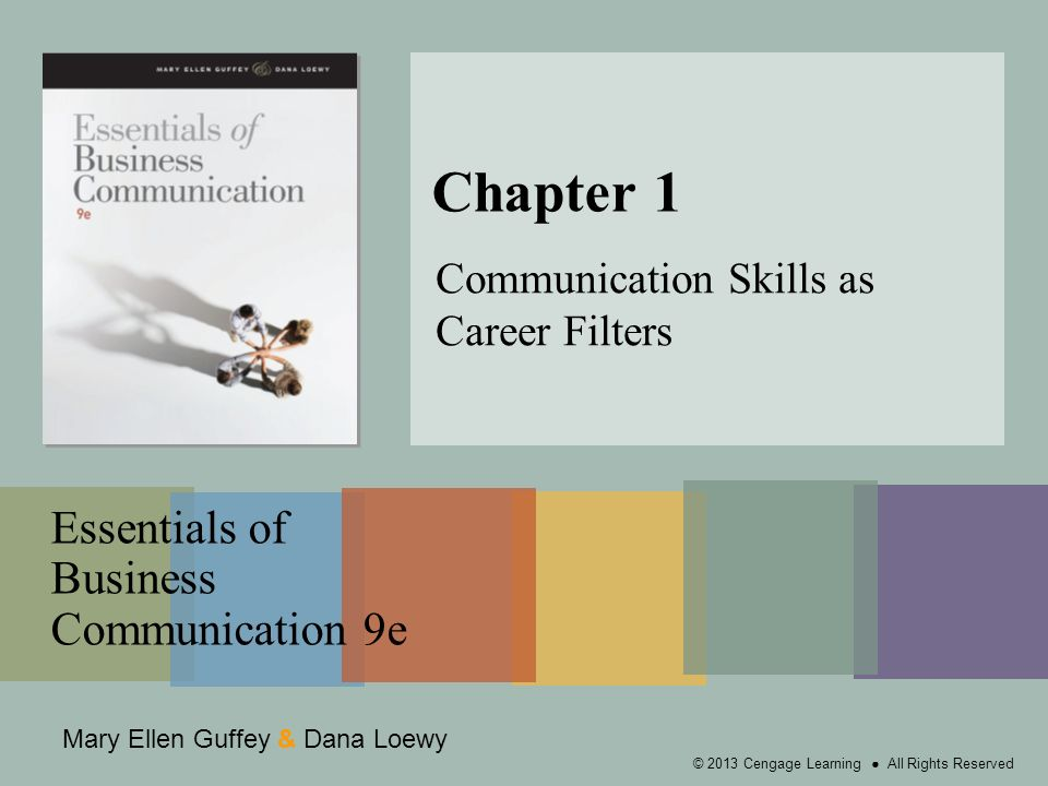 essentials of business communication 9e chapter 2 review Essentials of human communication shows how human communication skills apply to the real chapter 2: perception of the small group communication essentials of.