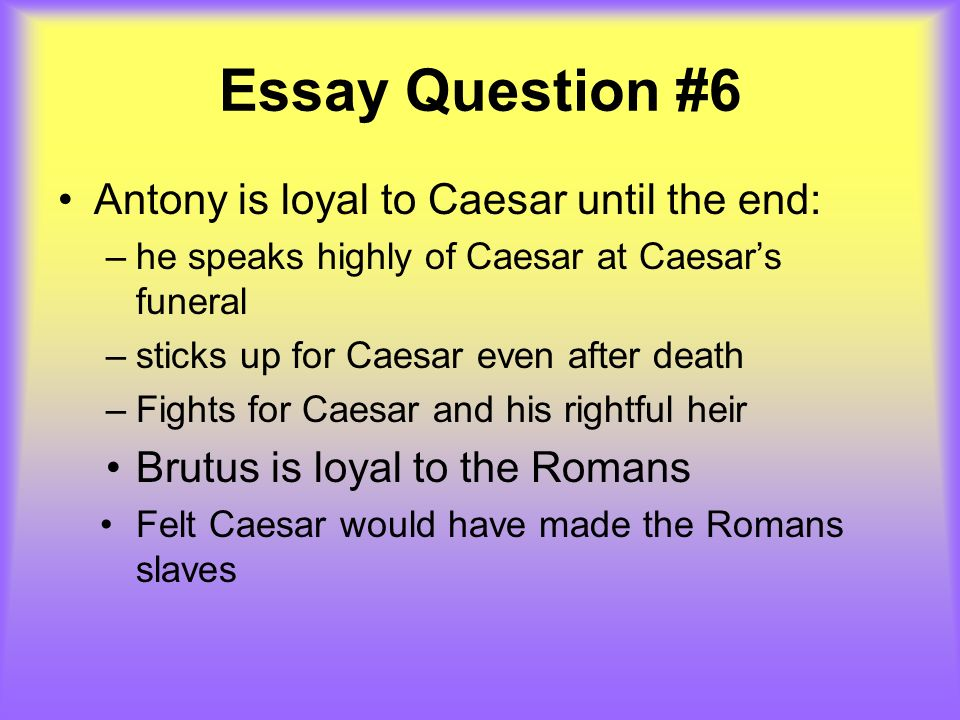 julius caesar final academic english ppt  14 essay