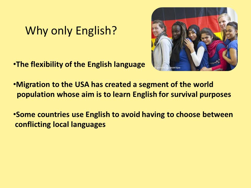 the effectiveness of the english language Find out how teachers can play to the strengths and shore up the weaknesses of english language learners in each of the reading first content areas.