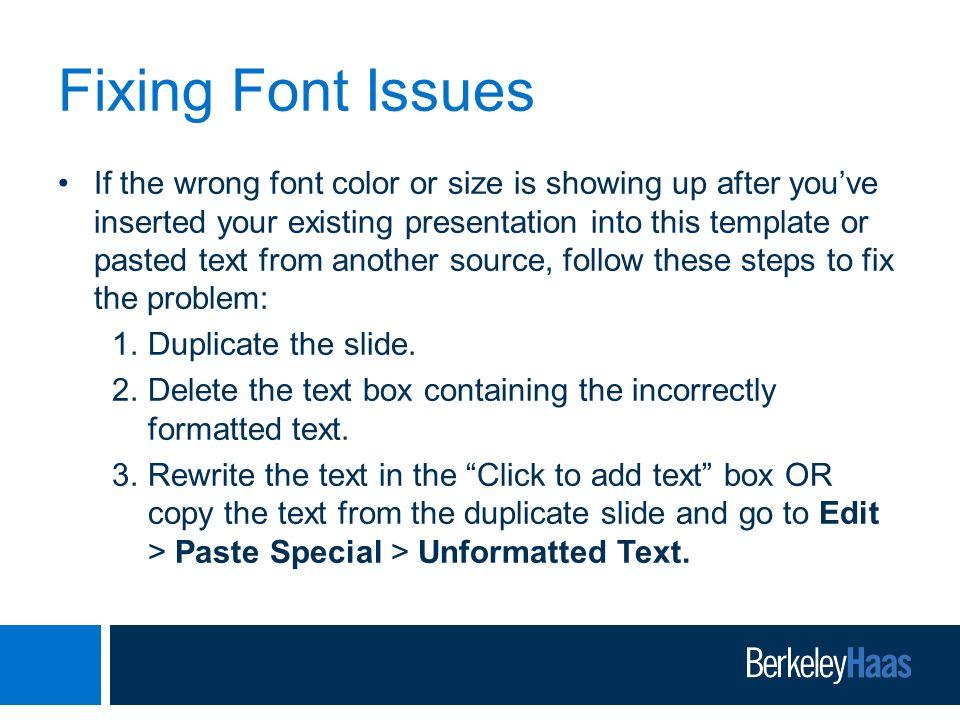 Berkeley haas powerpoint presentation template ppt video online 10 fixing toneelgroepblik Gallery