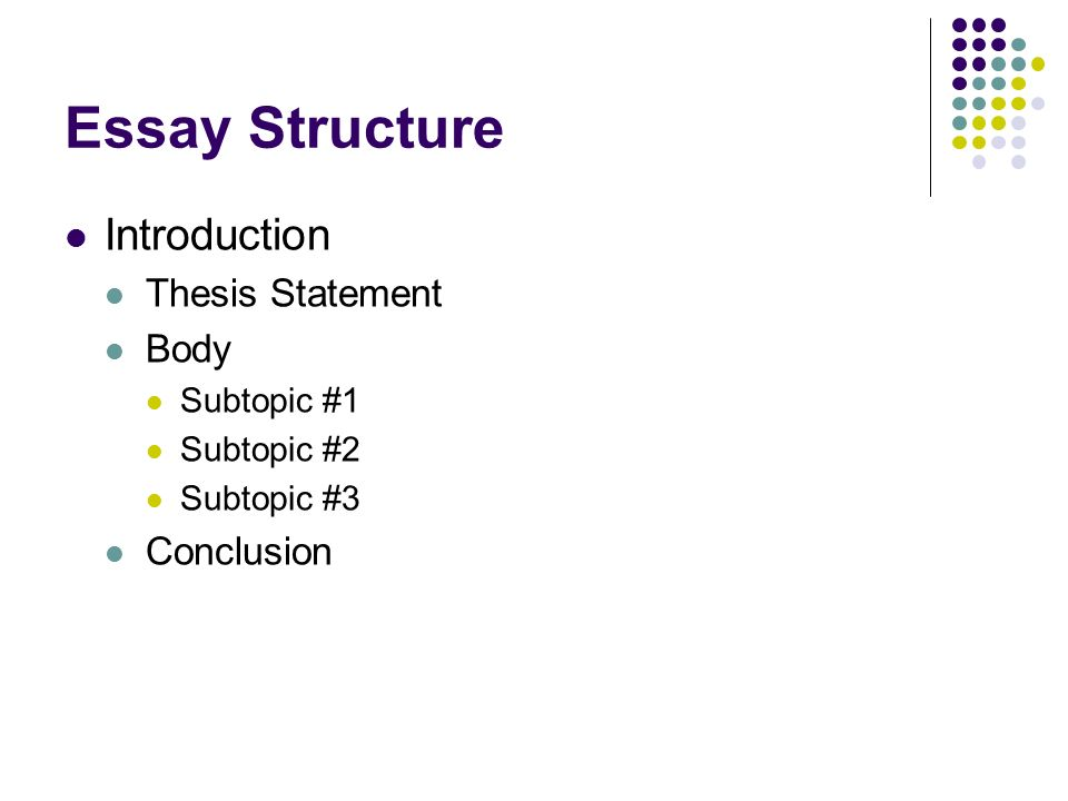 "checklist for an effective thesis statement No items to check for effective introduction  yes no 1 does the introduction include the topic, purpose, and thesis statement 2 does the introduction use a ""hook"" to grab the reader's attention."