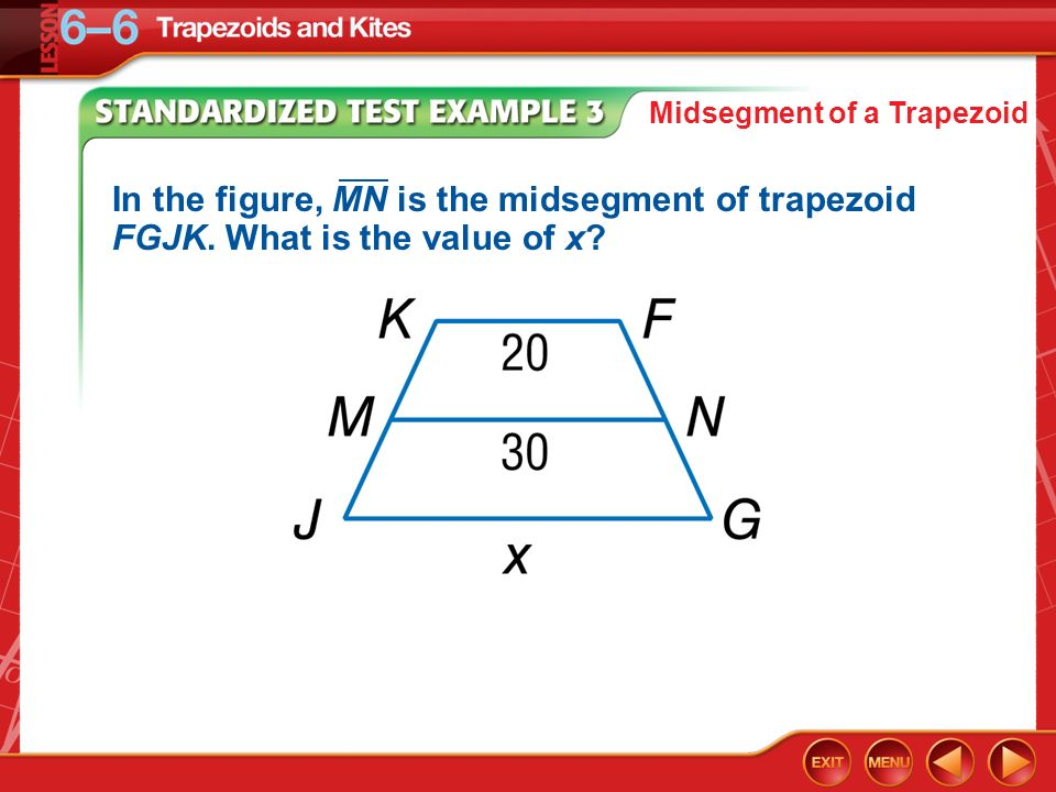 You used properties of special parallelograms ppt download 9 midsegment ccuart Choice Image