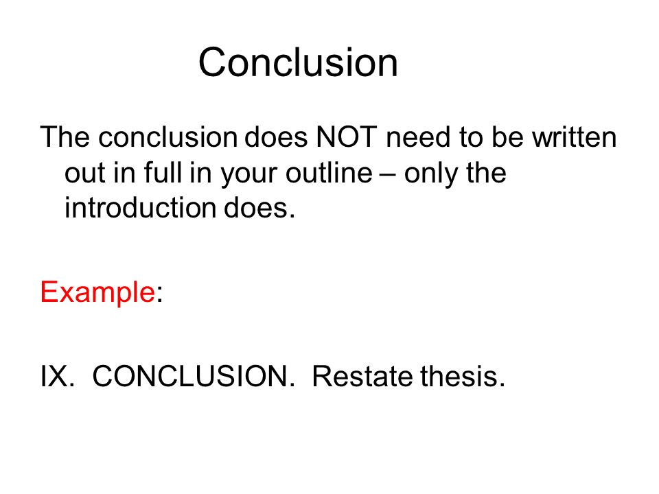 how to write a thesis paper conclusion When writing a strong essay conclusion, be sure to avoid these teeny-tiny pitfalls able to sink your paper despite it was legen wait for itdary don't write any new information your conclusion is about summarizing the thesis and statements.