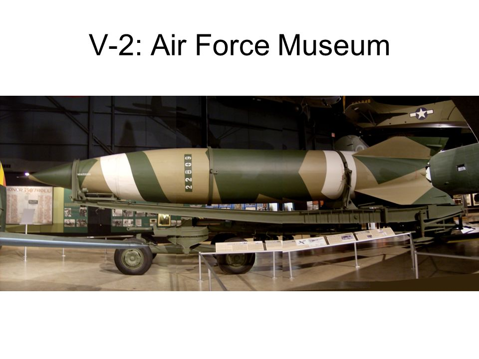 V-2: Air Force Museum