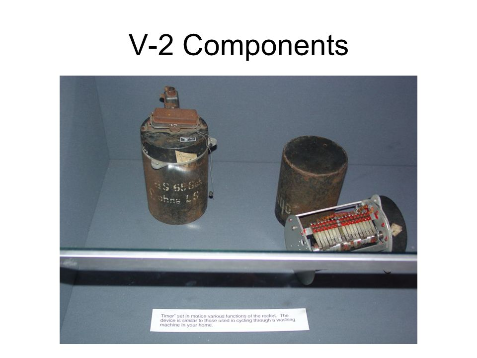 V-2 Components