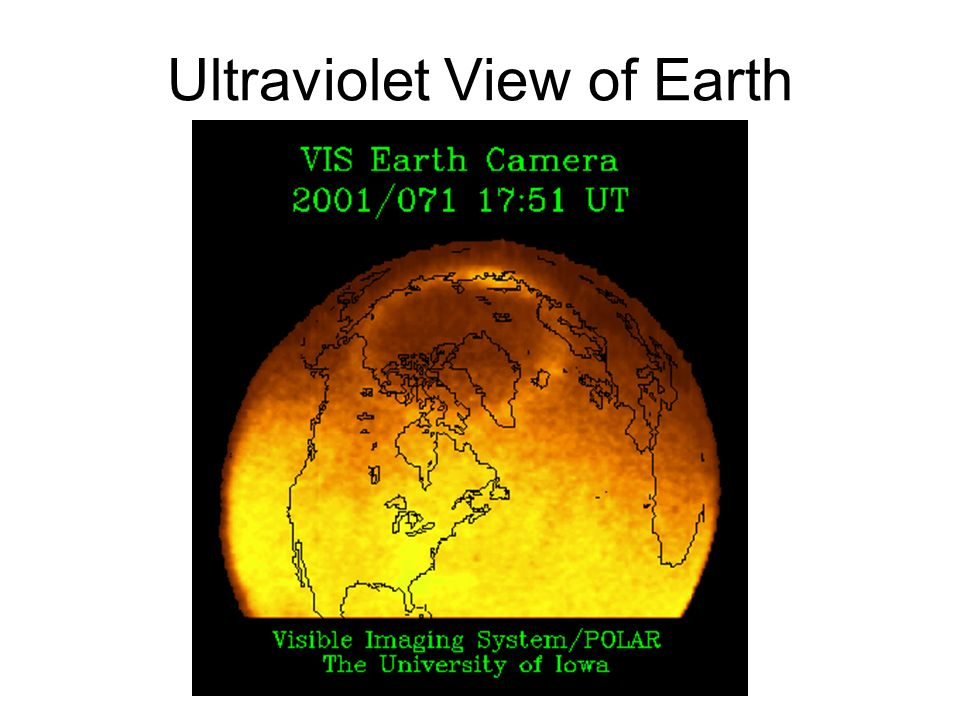 Ultraviolet View of Earth