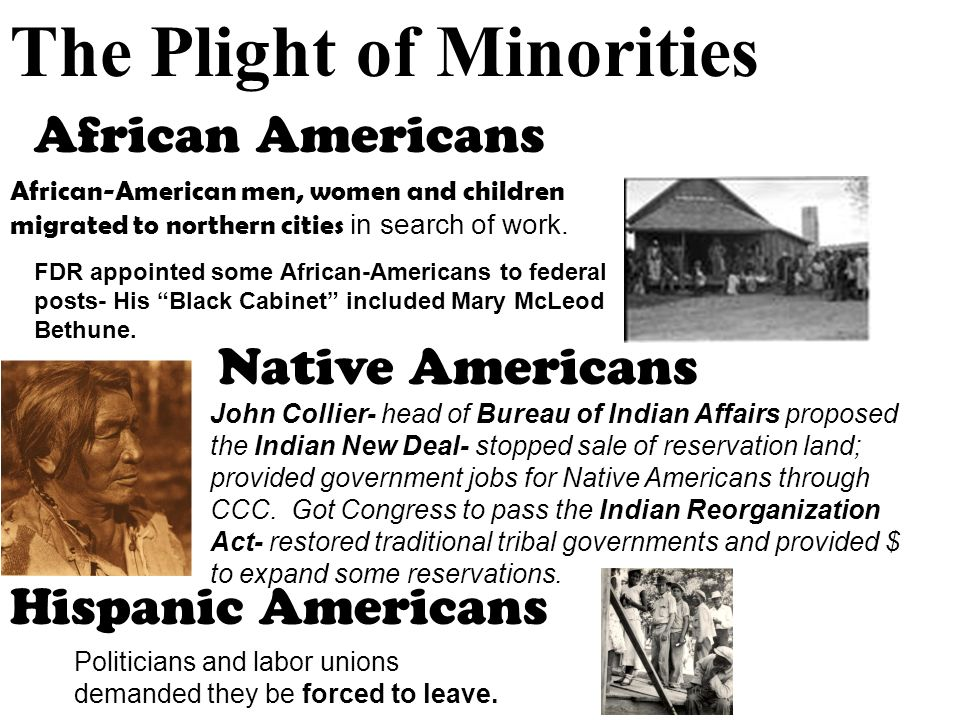 minorities in america the similar plights The unrepresented nations and peoples organization (unpo) is an international, nonviolent and democratic membership organisation its members are indigenous peoples, minorities, unrecognised states and occupied territories that have joined together to defend their political, social and cultural rights, to preserve their.