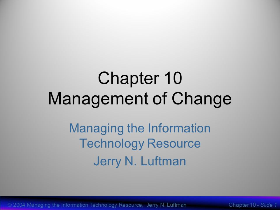 chapter 4 change management part Start studying chapter 4: organizations and change management learn vocabulary, terms, and more with flashcards, games, and other study tools.