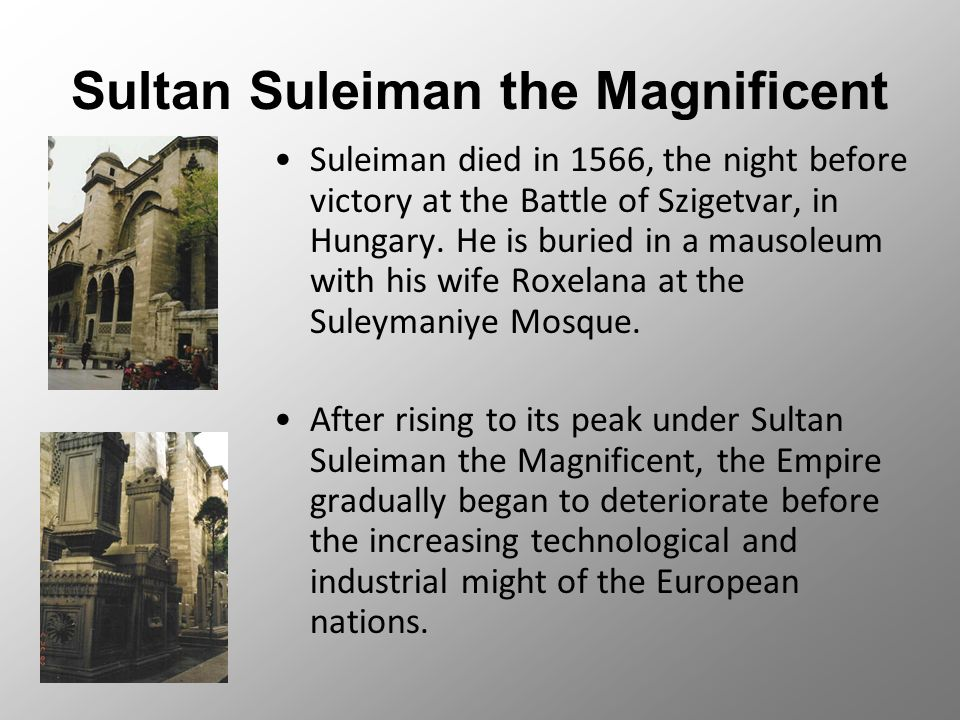 was suleiman the magnificent worthy of