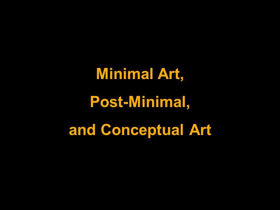 Minimal art post minimal and conceptual art ppt video for Minimal art online