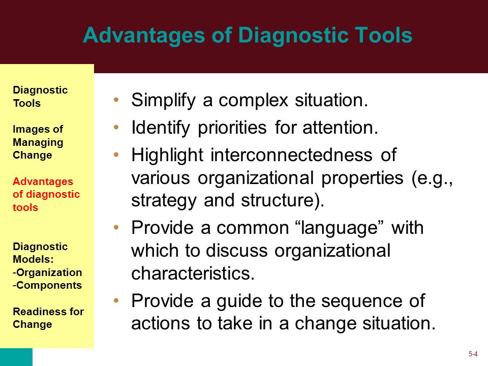 models of organization diagnosis Organizational diagnosis and assessment will be invaluable to advanced students, consultants frames and models in organizational diagnosis.