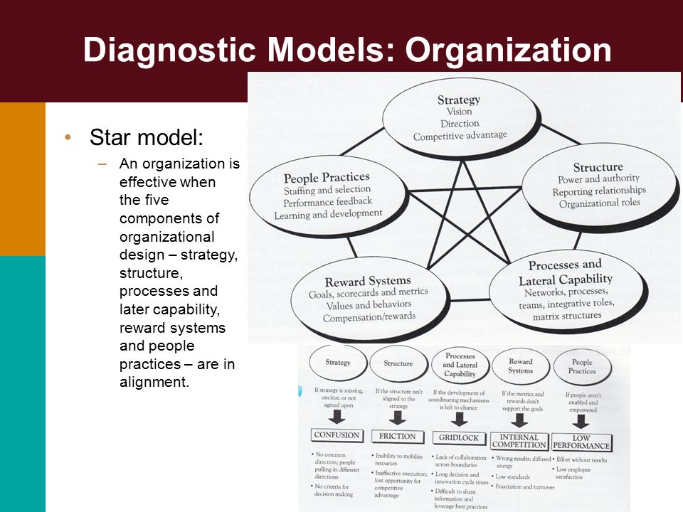 organization diagnosis Organizational diagnosis: a workbook of theory and practice reading, ma: perseus books  step-by-step procedures for understanding and improving any organization.