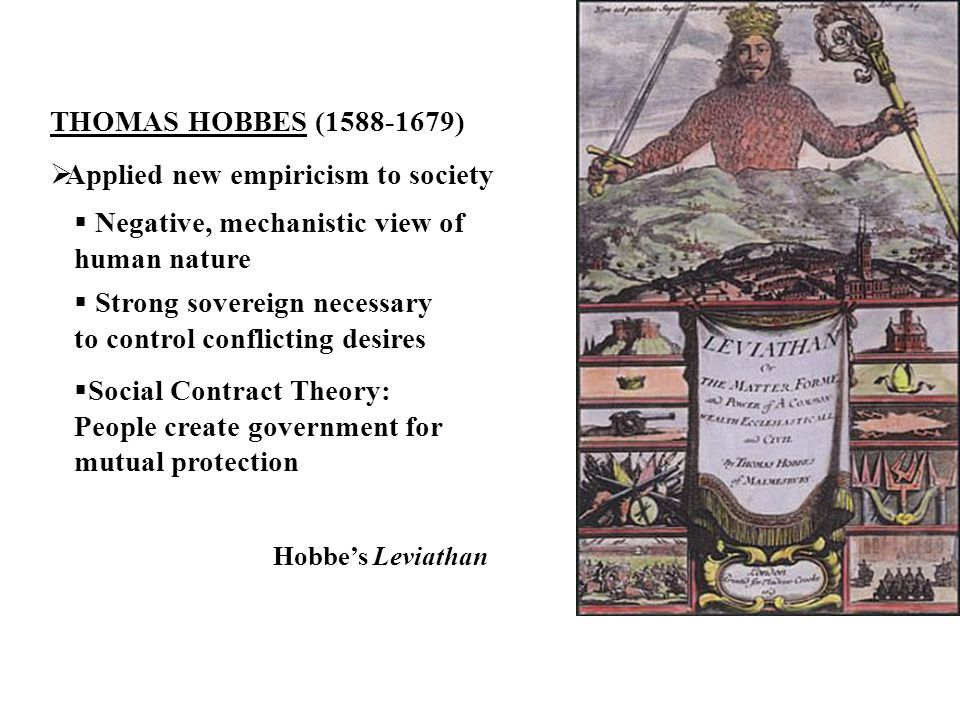 What Was Thomas Hobbes View On Human Nature