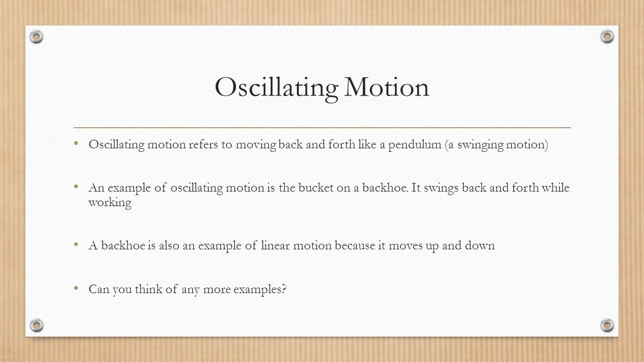 Types of Motion. - ppt video online download