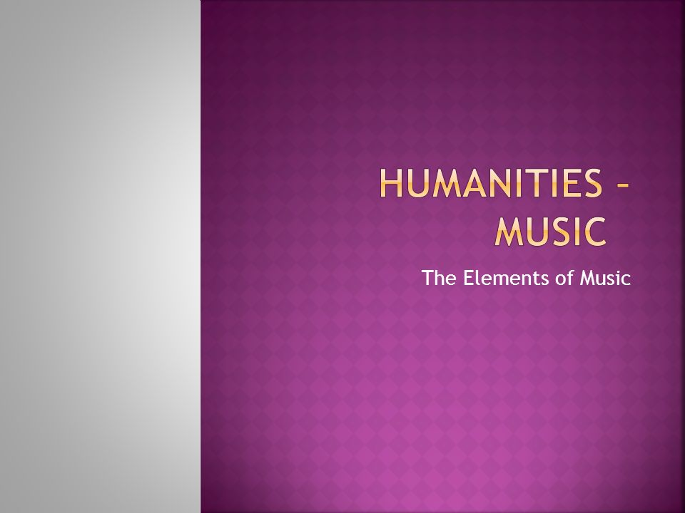 Arts and humanities music review ppt download.