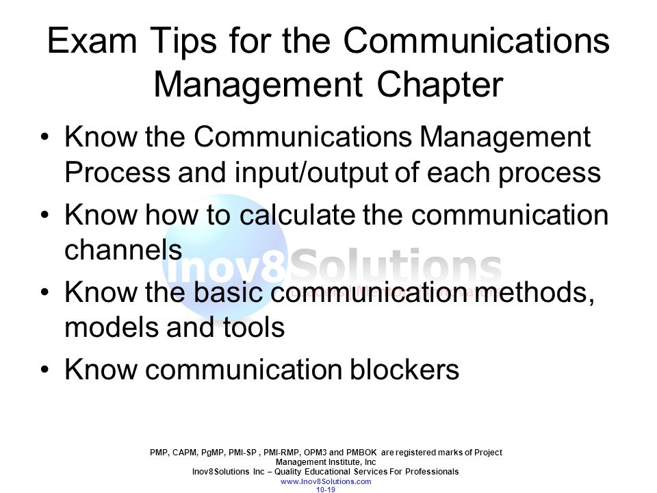 Chapter 10 Communications Management Ppt Video Online