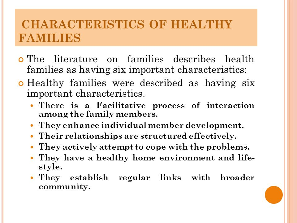 Healthy vs. Unhealthy Relationships
