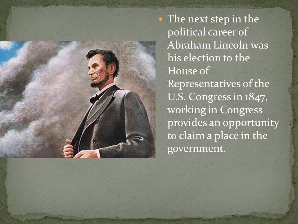 an analysis of the turning point in abraham lincolns political career The obama-lincoln parallel: a closer look from the start of his political career the turning point was his 1857 speech at the illinois state house for.