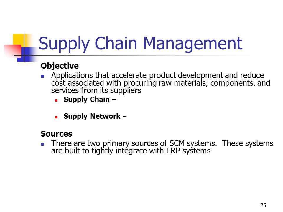 enterprise wide systems and supply chain management Supply chain systems i: enterprise resource planning  why do supply chains need it systems 4 internal supply chain management processes  , in an enterprise .