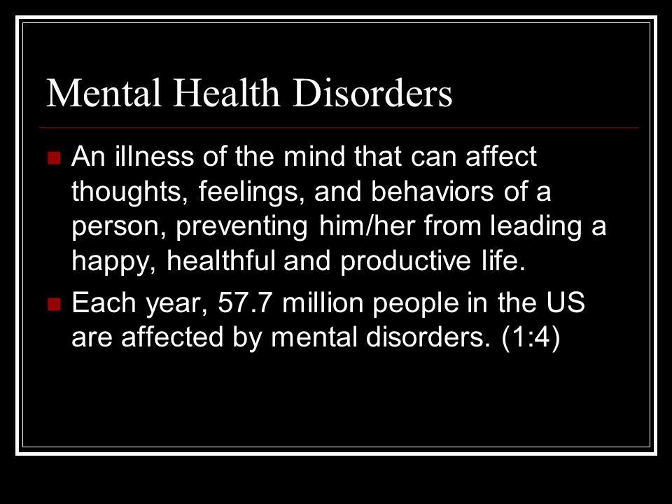 types of mental disorders Smoking cigarettes and mental illness: types of psychiatric medications tweet coming to terms with the different types of psychiatric medications.