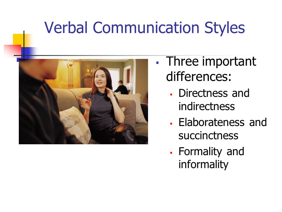 Verbal Communication Styles