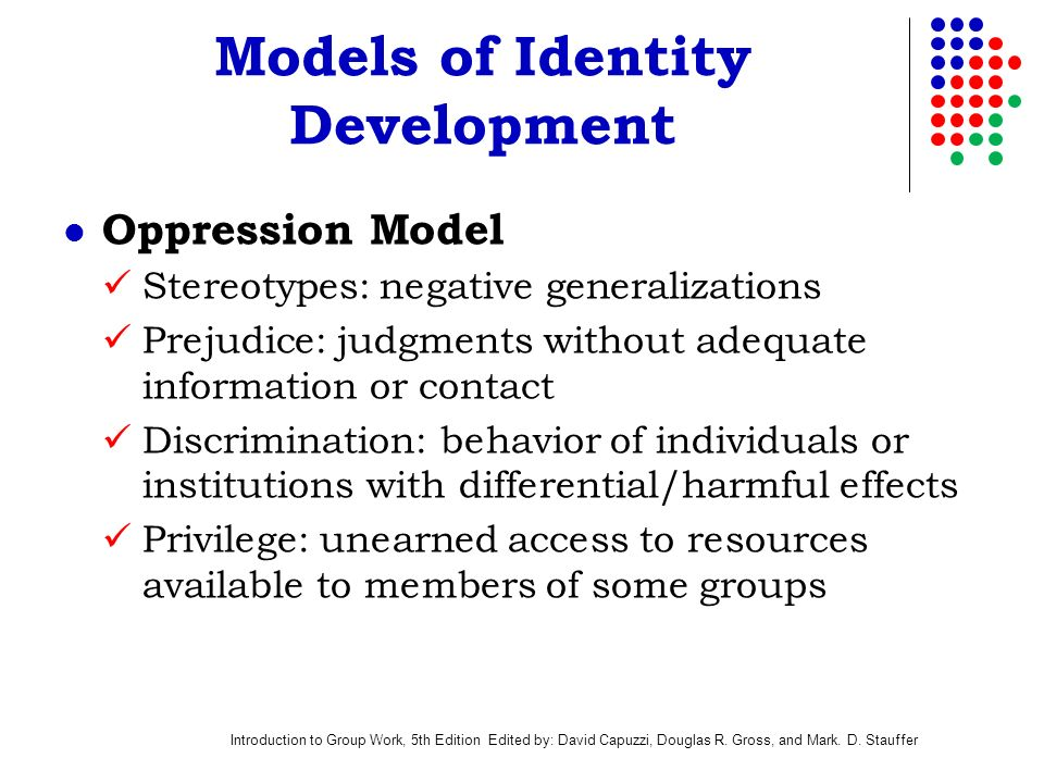 effects of discrimination and oppression Reframing internalized oppression and internalized domination: discrimination, and oppression by pri- internalized oppression and internalized domination in.