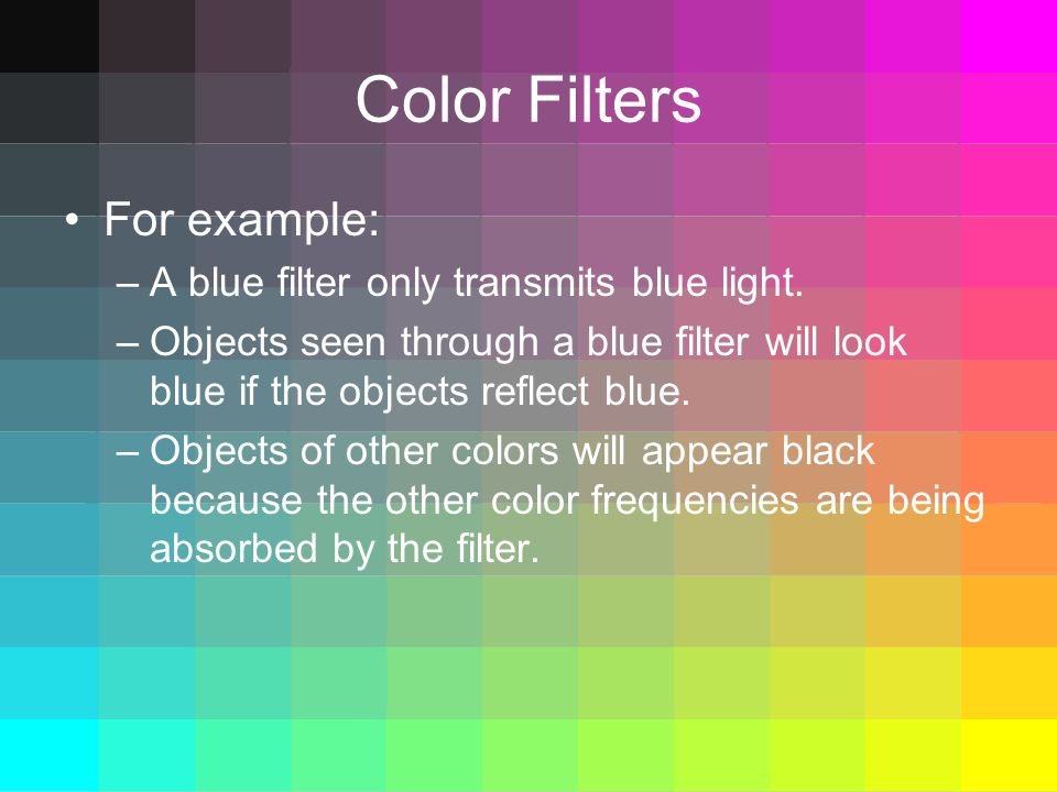 Waves How Do We See Color Ppt Video Online Download