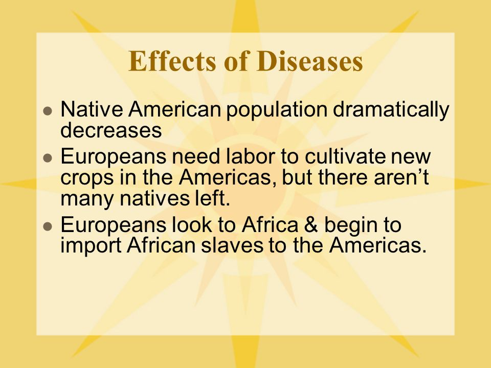 the impact of disease on native Was that the deciding factor that led to the collapse of some of the major native american civilizations.