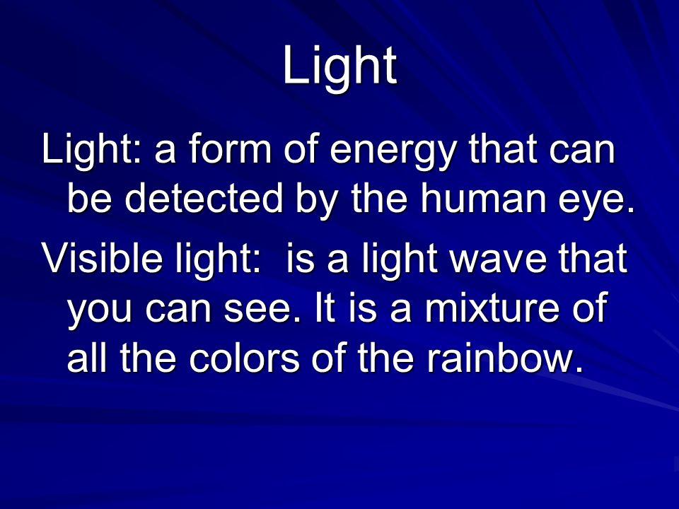 grade 8 science waves light sound light color spectrum seeing