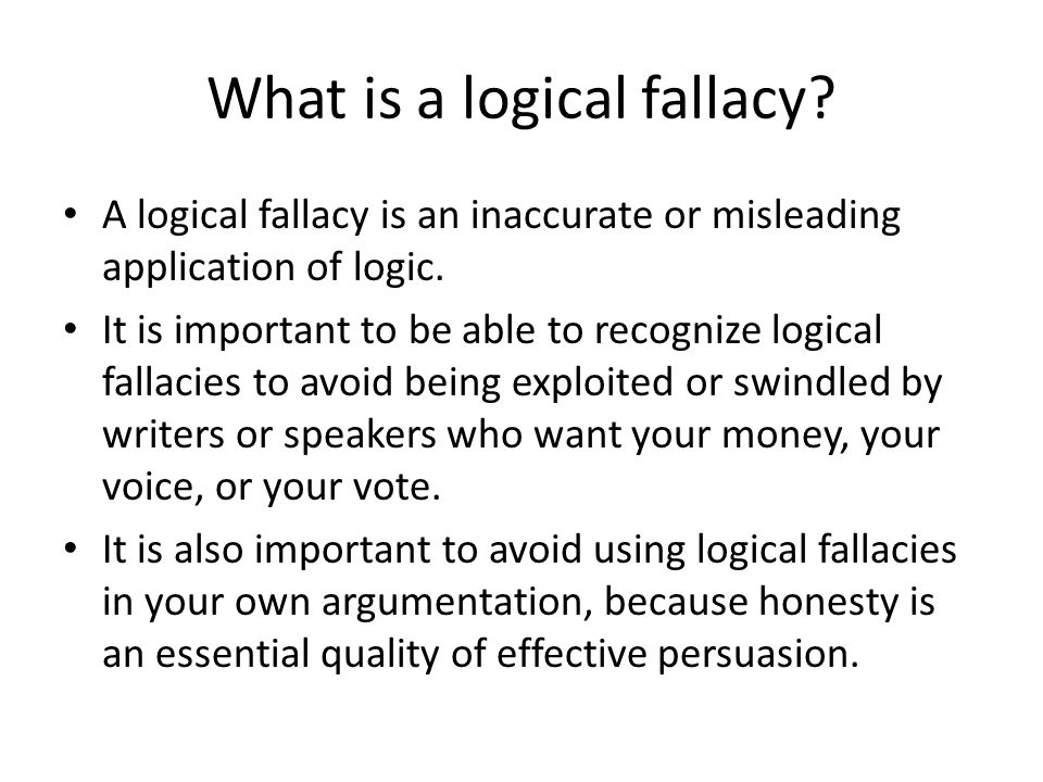 Common Logical Fallacies ppt video online download – Fallacies Worksheet
