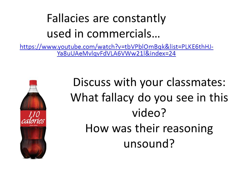 material fallacies Master list of logical fallacies fallacies are fake or deceptive arguments material persuasion, material incentive.