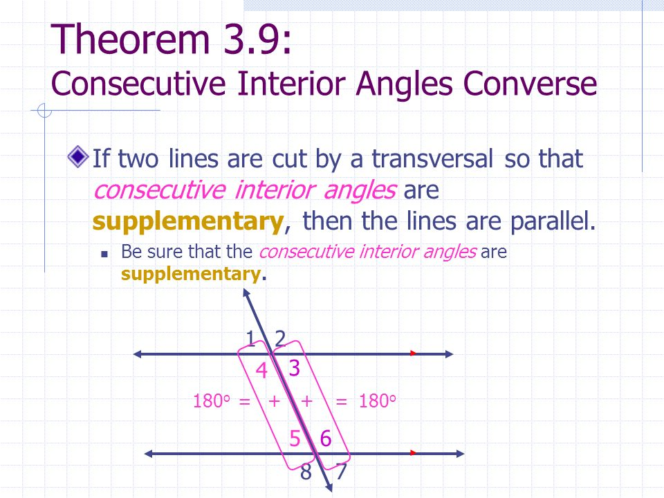 Perpendicular And Parallel Lines Ppt Video Online Download