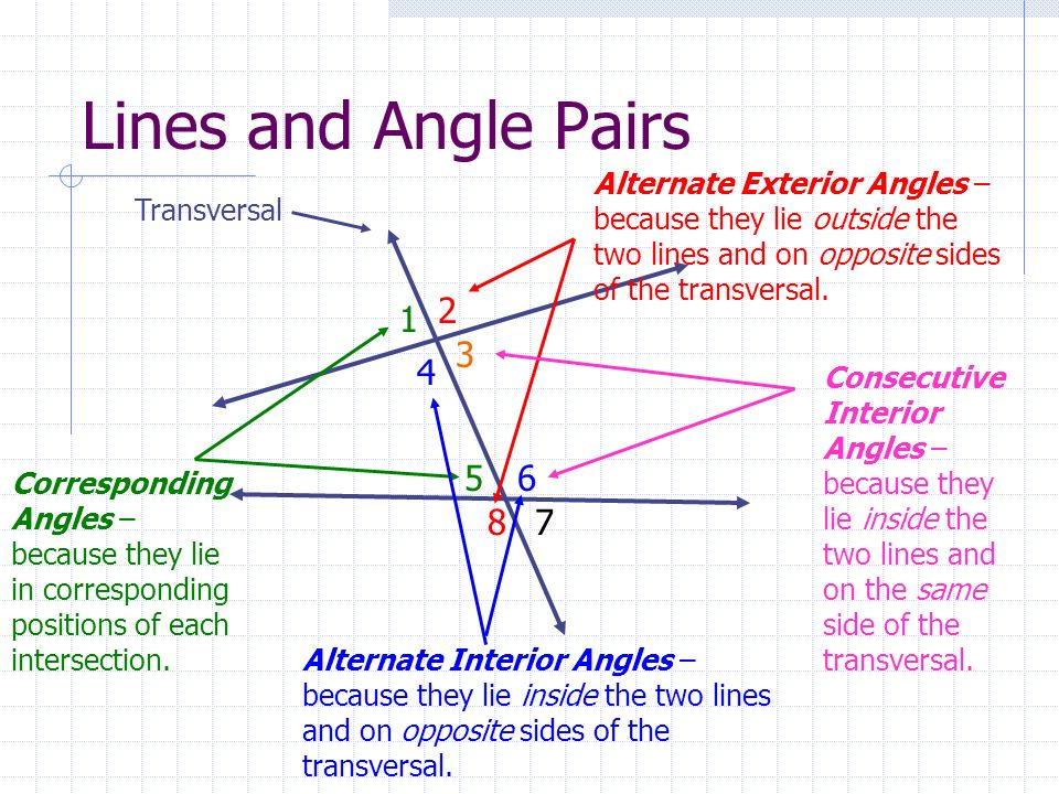Perpendicular and parallel lines ppt video online download - Same side exterior angles are congruent ...