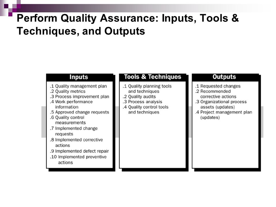 quality management tools and techniques Part 3 quality management systems, tools and techniques quality management systems, tools and techniques are a fundamental part of.