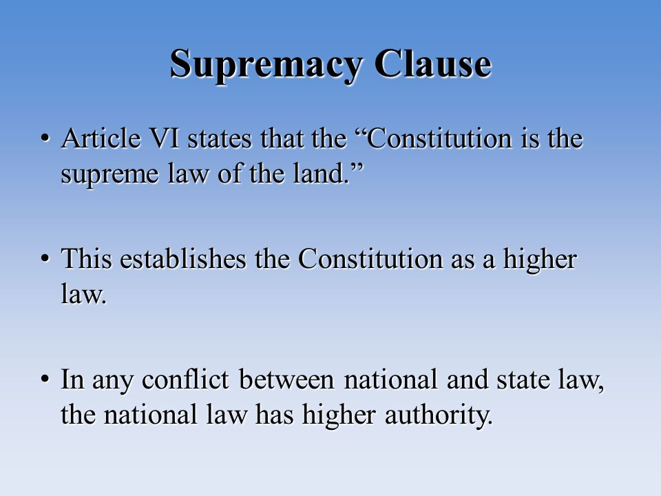 A Supreme Law Constitution Essay Second Amendment To The United States Constitution