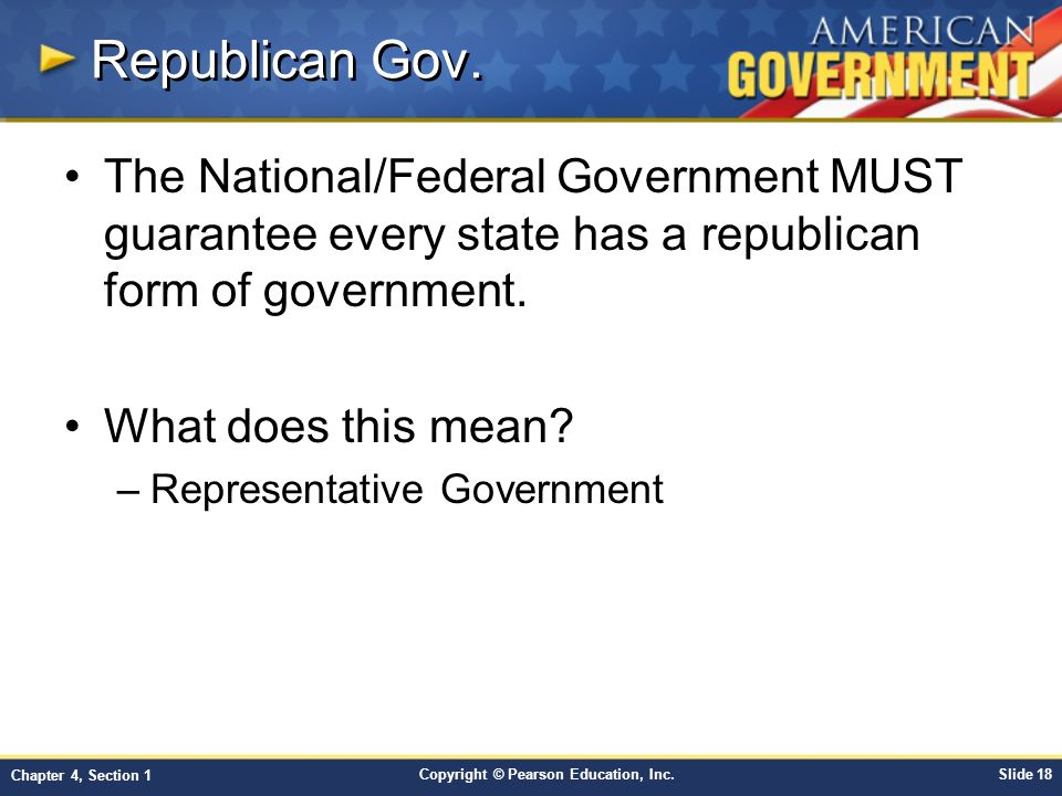 Chapter 4: Federalism Section ppt video online download