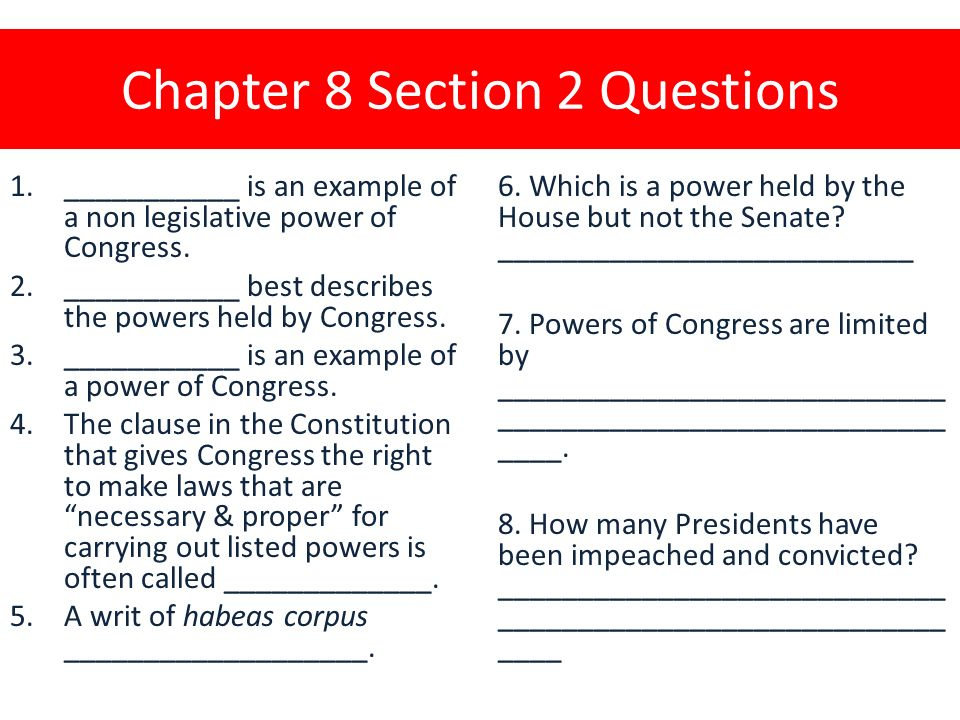 Chapter 8 Section 2 Textbook Page Ppt Download