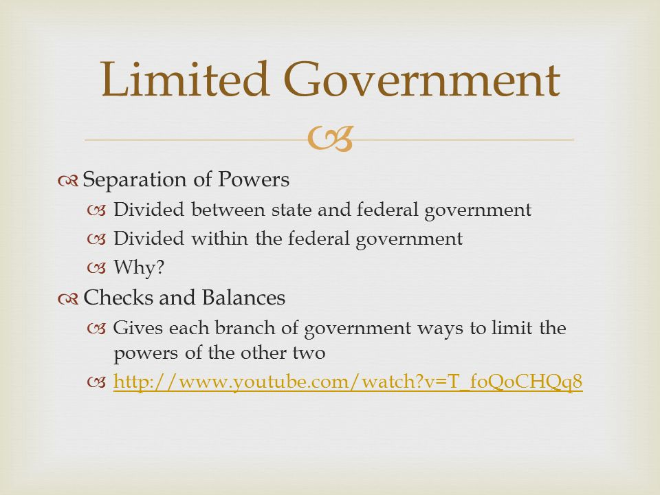 government separation of powers essay Free essay: successful governments in history gained their acclaim by trial and error the government in the united states is no different in fact, the.
