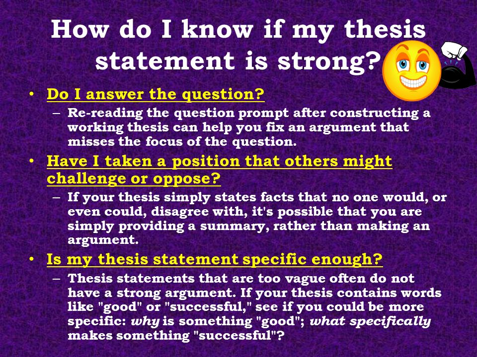 why should a thesis statement be 25 words