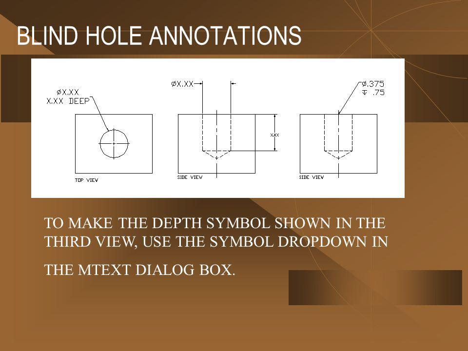 how to create diameter symbol in autocad