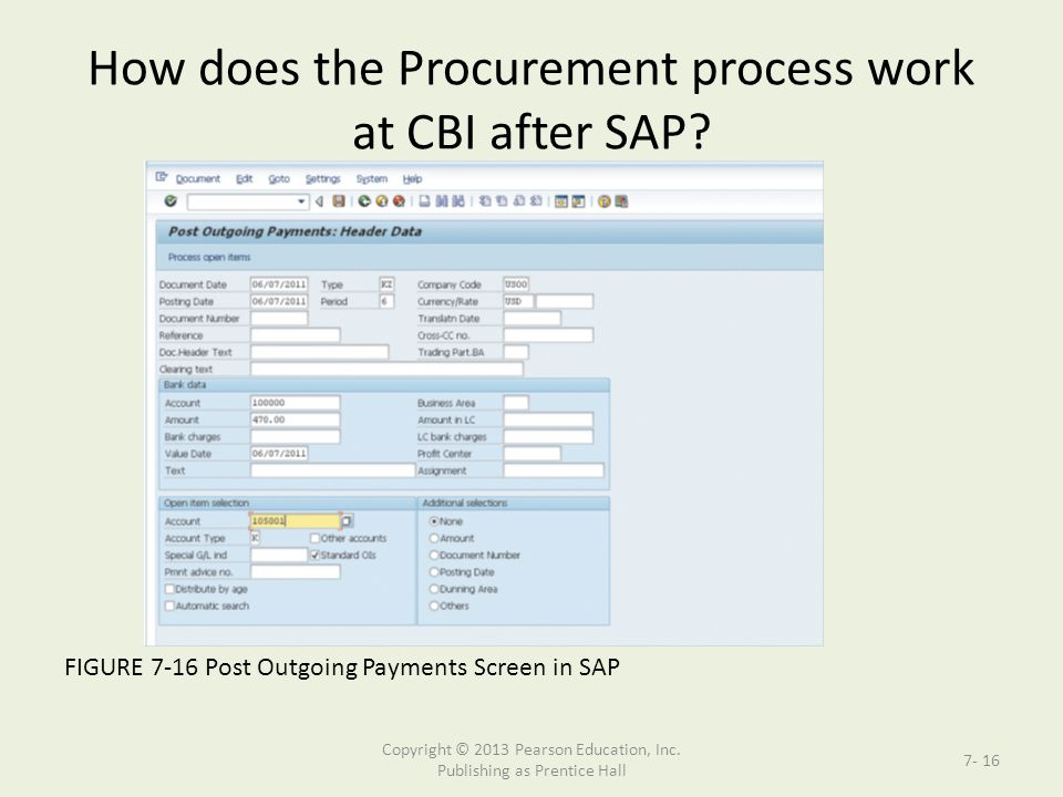 Supporting The Procurement Process With Sap Ppt Download
