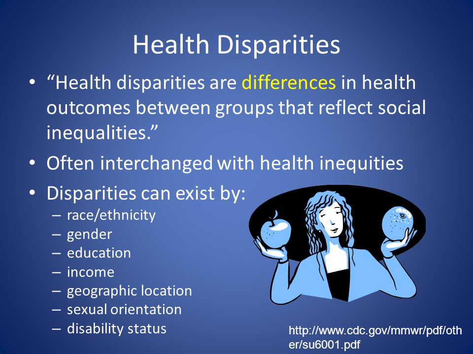 the relationship between economic disparities and health outcomes in a population Figure 1: lack of relationship between life expectancy and gross national product (gnp)  with correspondingly poor health outcomes and huge health disparities 1 its population's health is on a par with that of cuba,  the reversal of the relation between economic growth and health progress: sweden in the 19th and 20th centuries j health econ 2008 27: 544 –63.