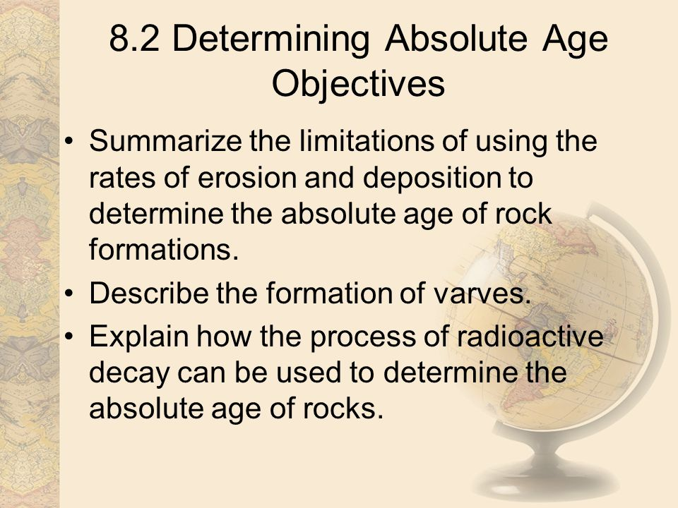 Do geologists use radioactive dating to determine the absolute ages of rocks