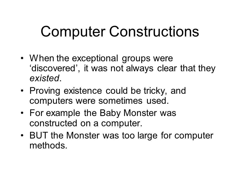Computer Constructions