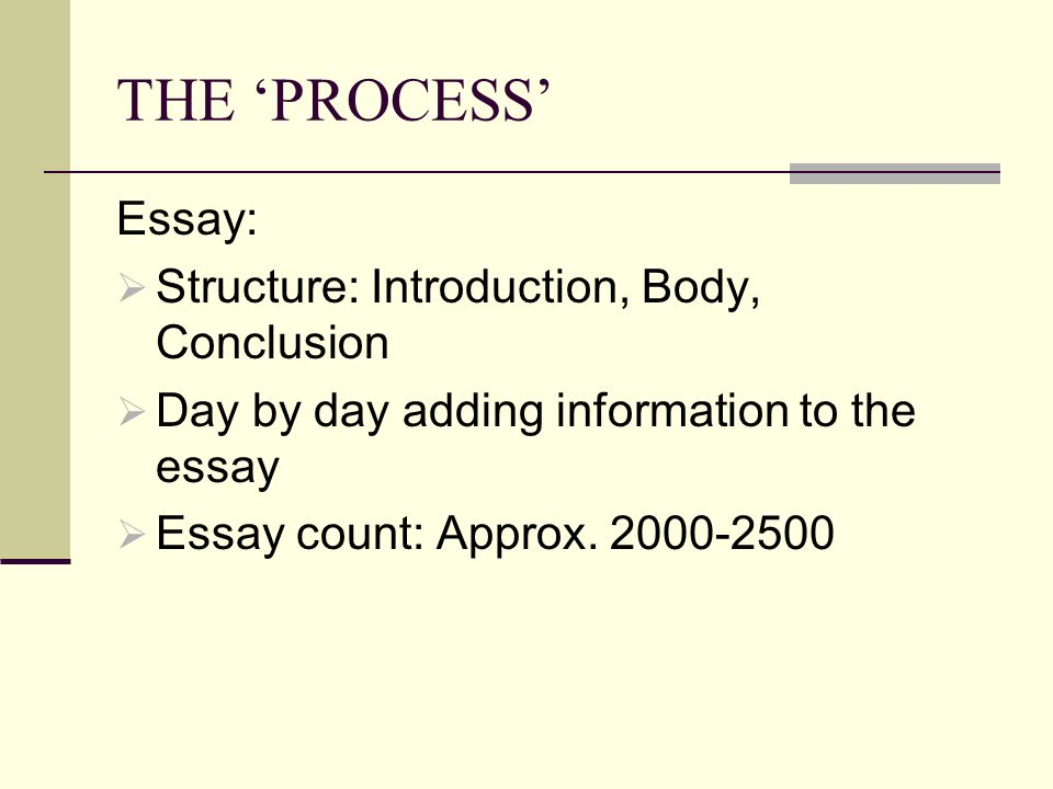 process essay structure Do you want to learn how to write an a+ literary analysis essay  and find  useful tips, advice on literary analysis outline, structure, steps of writing process,  etc.